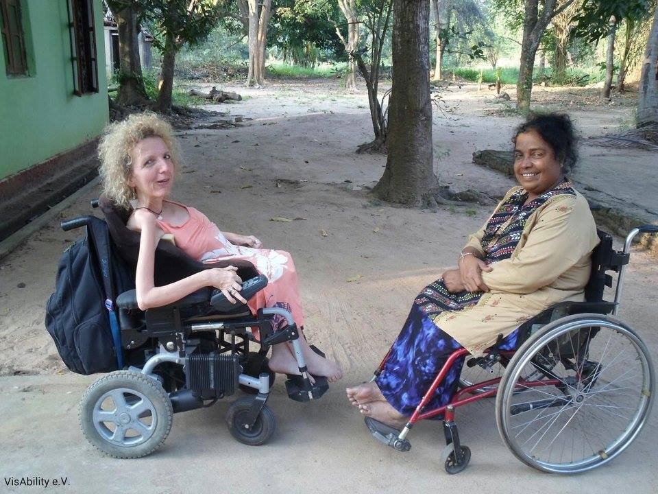 Two days exchange with Mrs. N.G. Kamalawathie, the Director of the Association of Women with Disabilities (AKASA) in Sri Lanka