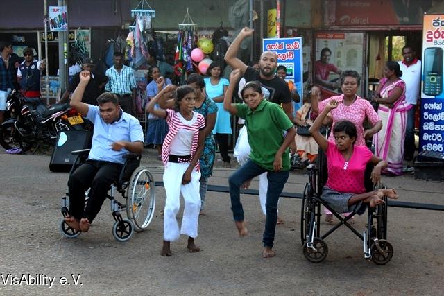 2015-07-09 VisAbility -Performance Anuradhapura 2