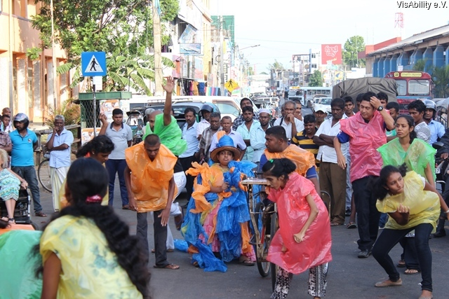 2015-07-23 VisAbility - Public Performance - Kaduruwela 3